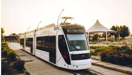 QF's Education City Tram in service
