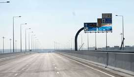 Ashghal opens vital carriageway ahead of schedule