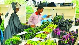 Local veg prices fall at agri yards
