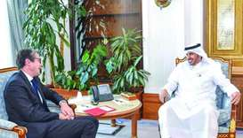 PM meets CEO of Thales Group