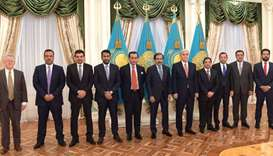 Qatar, Kazakhstan seek to bolster business relations