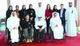 Ooredoo unveils Qatar's 1st 5G-enabled smart wheelchair