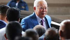 Former Malaysian PM Najib takes stand in 1MDB scandal-linked trial