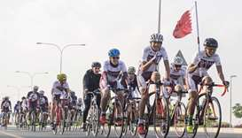 Countdown begins for third edition of QOC's Team Qatar Flag Relay
