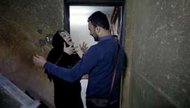 After 20 years, Palestinian mother and son reunited