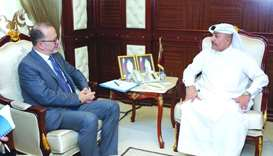 Labour minister meets Unicef regional director