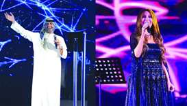 Yara, Ibrahim Dashti wow crowds during Qatar Live