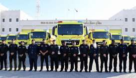 Civil Defence launches new firefighting vehicles