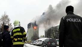 Gas explosion kills five in apartment block in Slovakia