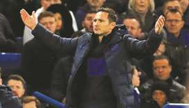 Chelsea are currently fourth in the Premier League and coach Frank Lampard admitted the club would n