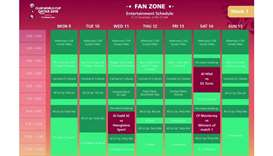 Fan zone: Festival of football with an electric atmosphere