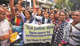 Praise, unease as police kill rape accused