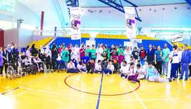 Aspire Zone, QPC celebrate Paralympic Day