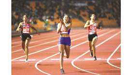 Filipina takes 200m crown from 'Queen of Speed'