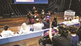 QPO show enthrals audience at Qatar National Library
