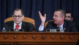 Republican House Judiciary Committee ranking member Doug Collins (R-GA) and commitee Chairman Rep. J