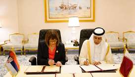 Speaker of Shura Council Signs MoU with Serbian Counterpart