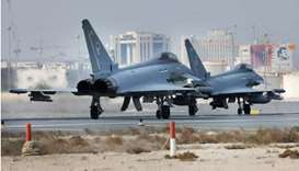 Qatari-UK squadron of Typhoon fighters to hold 'Epic Skies' exercise