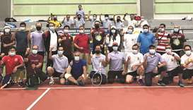 Indonesian embassy holds tennis tourney for migrant workers