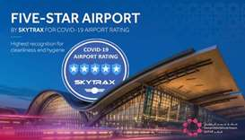 The audit evaluated how effectively Covid-19 policies are implemented at Qatar's airport against the