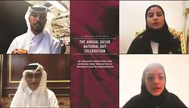 Qatari students bring GU-Q community together for virtual QND celebration