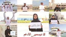 The initiative aims to involve QU students from all departments under one umbrella, to celebrate the