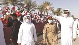 Qatar National Day marked with patriotic fervour; parade showcases military might