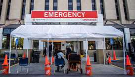 California hospitals overrun even as vaccine is rolled out