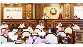Shura Council weekly meeting