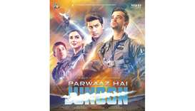 MILESTONE: Parwaaz Hai Junoon (Flight is Passion) became the first Pakistani movie to be commerciall