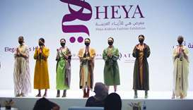 Modest apparel of various designs on show at 17th edition of Heya.