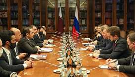FM meets Russian Deputy Prime Minister, top Russian officials in Moscow