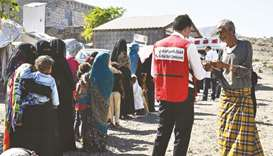 QRCS in emergency response to flash flood victims in Yemen