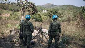 Three UN peacekeepers killed in C.Africa ahead of national polls