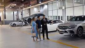The campaign allows Mercedes-Benz owners to receive a complimentary vehicle checkup executed by trai
