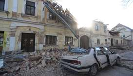 Earthquake strikes central Croatia, killing young girl and damaging buildings