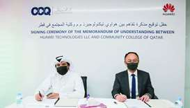 Huawei, Community College of Qatar announce partnership to develop local talent through ICT academy