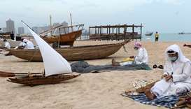 The 10th edition of the Katara Traditional Dhow Festival at Katara - The Cultural Village. PICTURES: