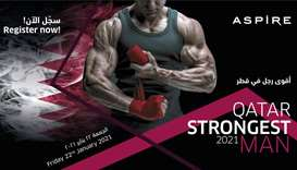 Aspire Zone Foundation gears up to host Qatar's Strongest Man 8th edition