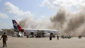 Yemen airport blasts kill 26 as government plane arrives