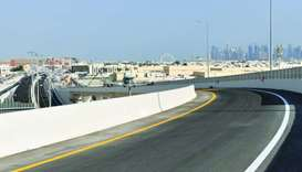 Ashghal to open highest and seventh bridge at Umm Lekhba Interchange