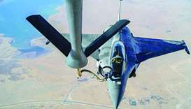 Qatar, US jointly conduct aerial refuelling