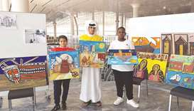 School students paint creative visions of Qatar
