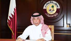 HE Minister of State for Foreign Affairs Sultan bin Saad Al Muraikhi