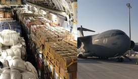 Qatar sends urgent aid to Philippines