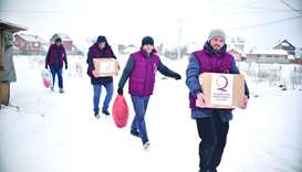 A Qatar Charity initiative promoting the culture of volunteerism