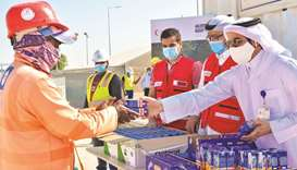 QRCS implements charitable initiative for expatriate workers