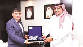 Turkish envoy lauds Gulf Times' leading media role