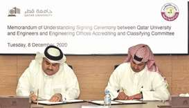 QU signs MoU with engineering committee