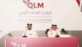Sheikh Saud and al-Mannai outline the finer details of IPO. QLM Medical and Life Insurance Company,